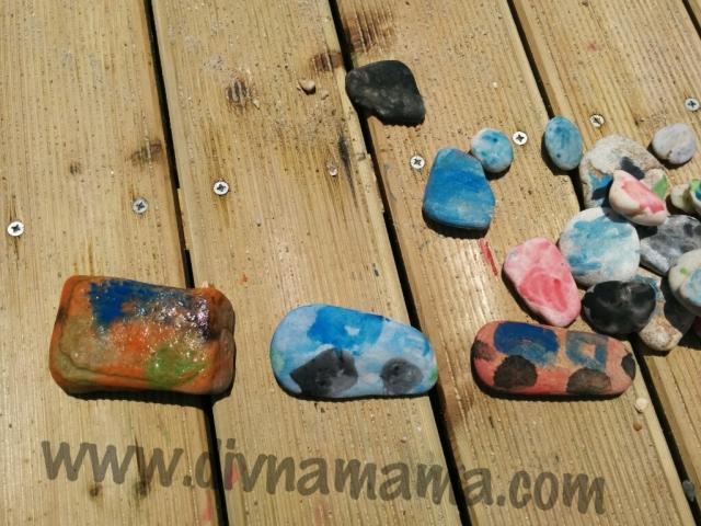 I mlađa deca lako prepoznaju oblike u kamenčićima